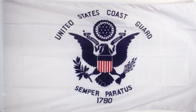 US COAST GUARD - 5 X 3 FLAG